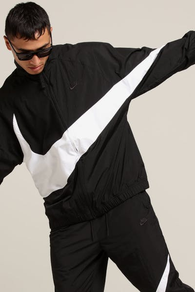 1840405cfc96f Nike Sportswear Jacket Black White Black