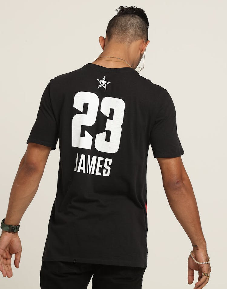 b28b71834 Nike NBA ASW Los Angeles Lakers Lebron James All Star Logo Dry Tee Black