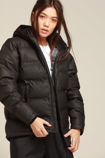 HUFFER X MARVEL WOMEN'S SUPERDOWN JACKET BLACK