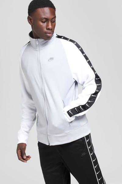 e0d89e8f7 Nike Sportswear Track Jacket Grey White Grey