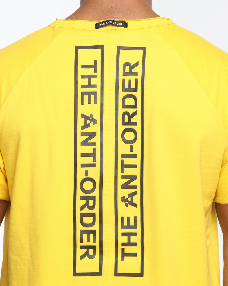 The Anti-Order Non-Primary Regulation Tee Yellow