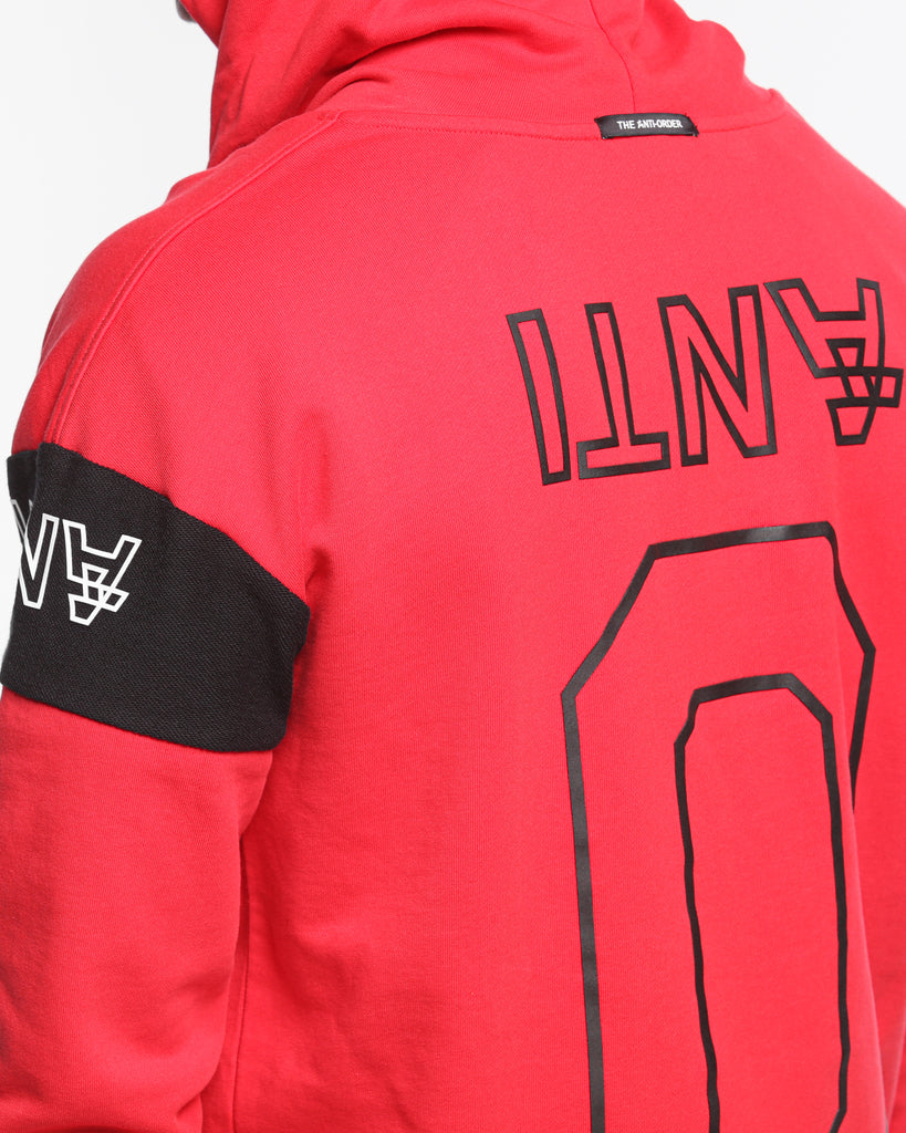 The Anti Order Non Primary Hoody Red