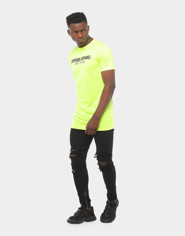 Emperor Apparel Utopia Tshirt Neon Yellow