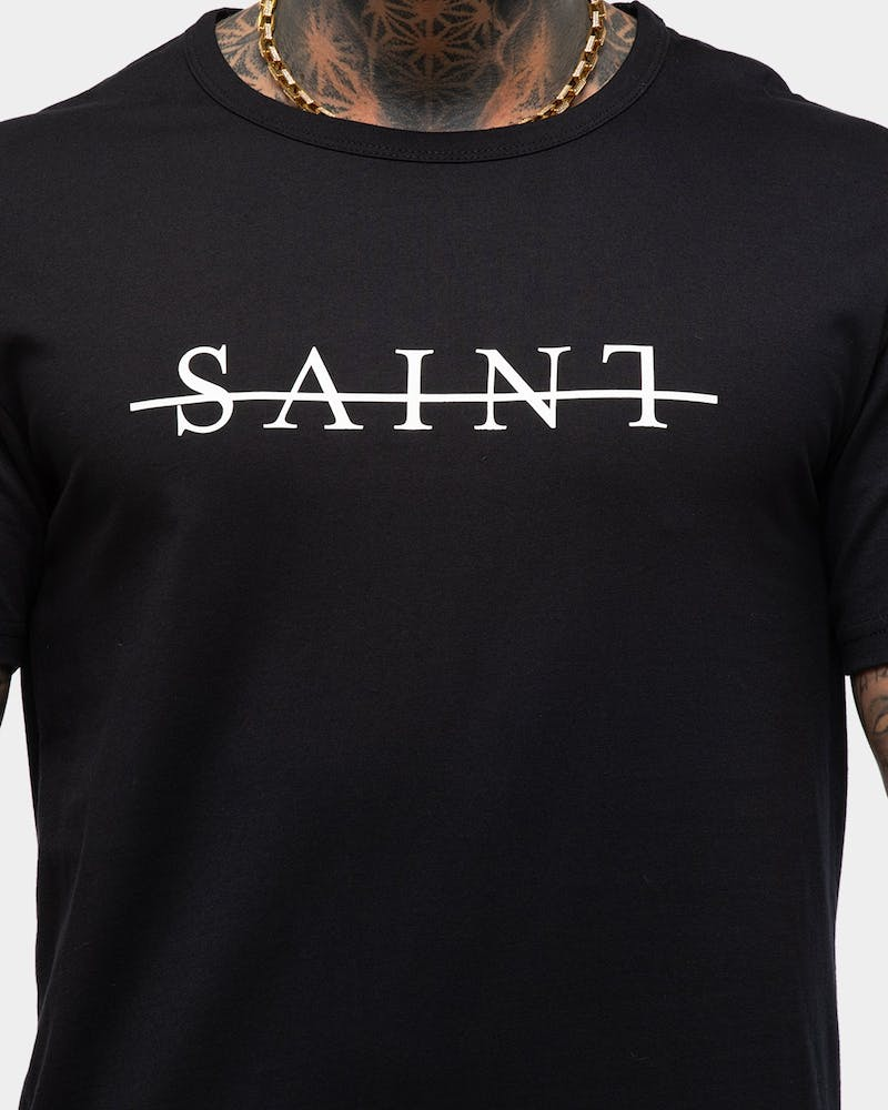 Saint Morta Strikeout El Duplo SS Tee Black/White