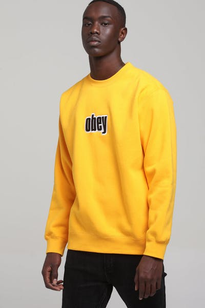 Obey Motion Crew Gold