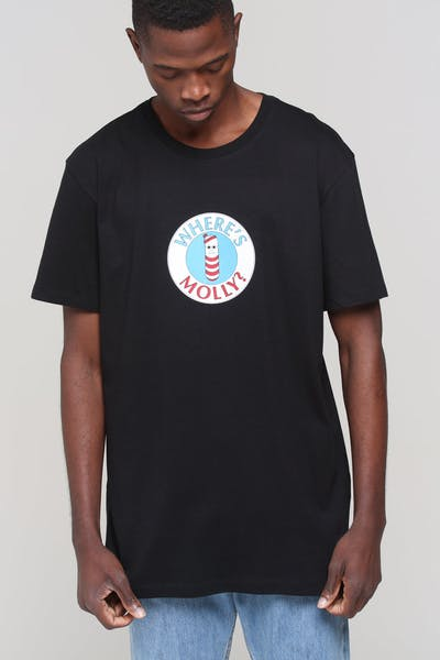 360d04c4270 Goat Crew Wheres Molly SS Tee Black