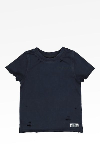 Lil Hommé Reactant Tee Navy