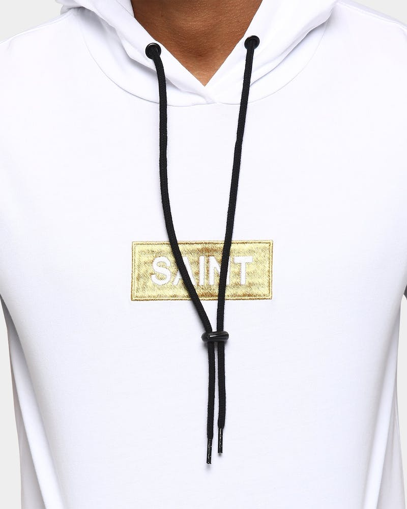 Saint Morta Stadium Hoodrat Tall Tee White/Gold