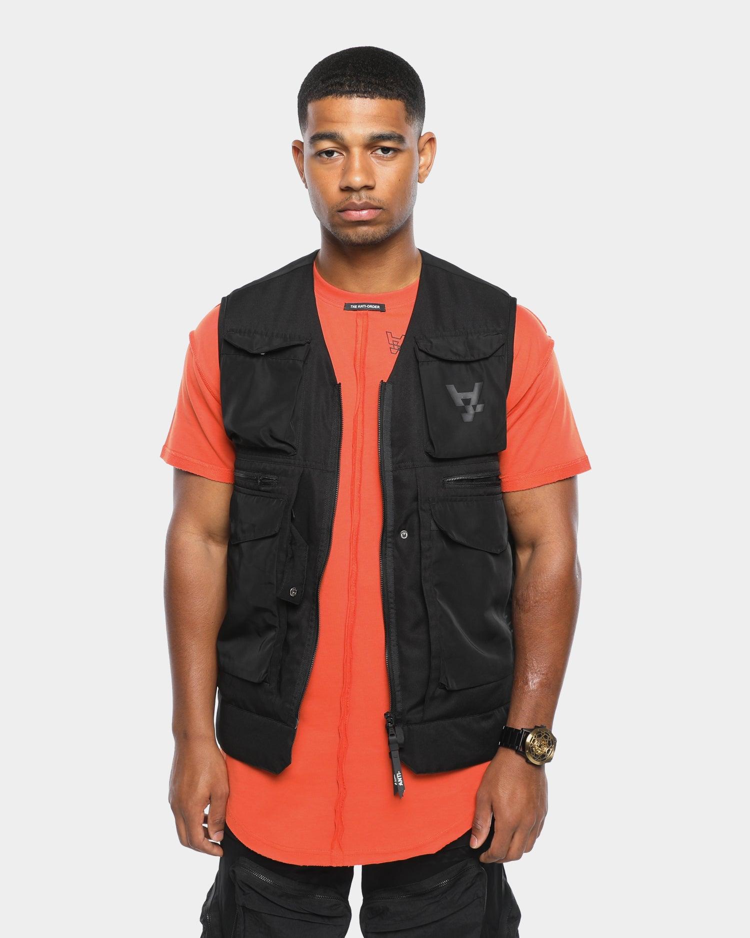 Anti-Order Distopian Street Vest Black