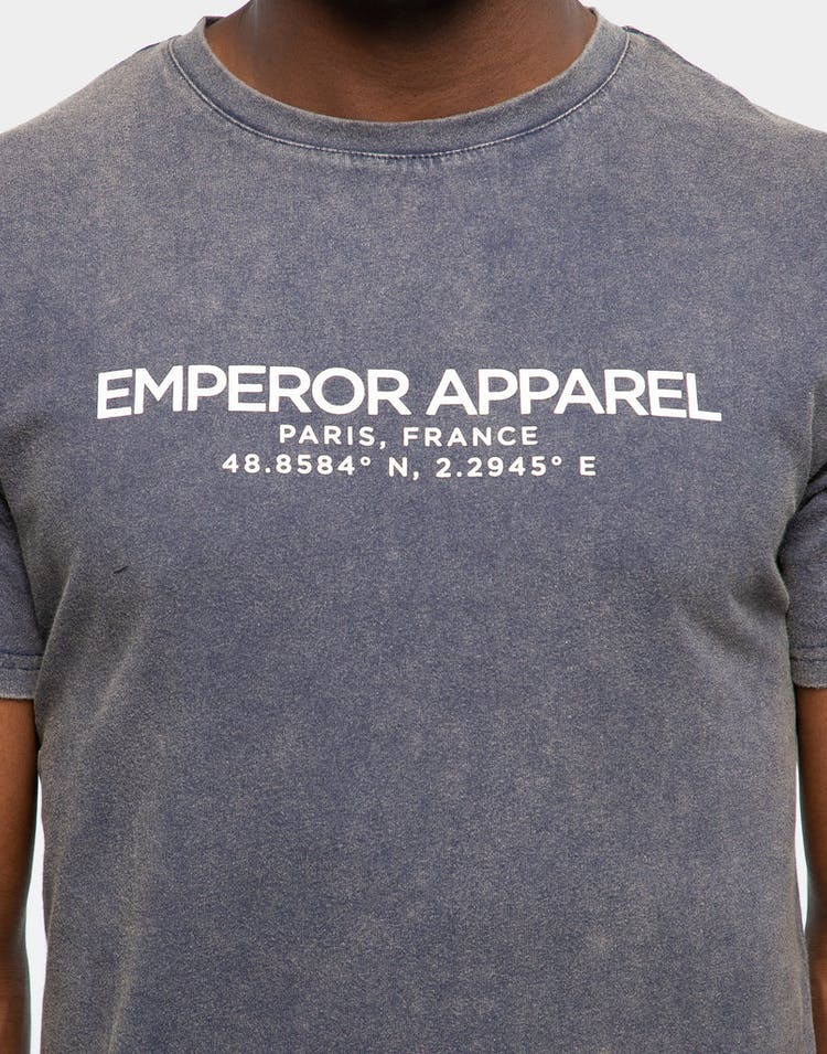 Emperor Apparel Byron T-Shirt Acid Navy