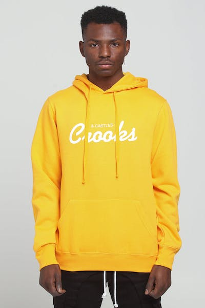 Crooks & Castles Team Hood Gold/White
