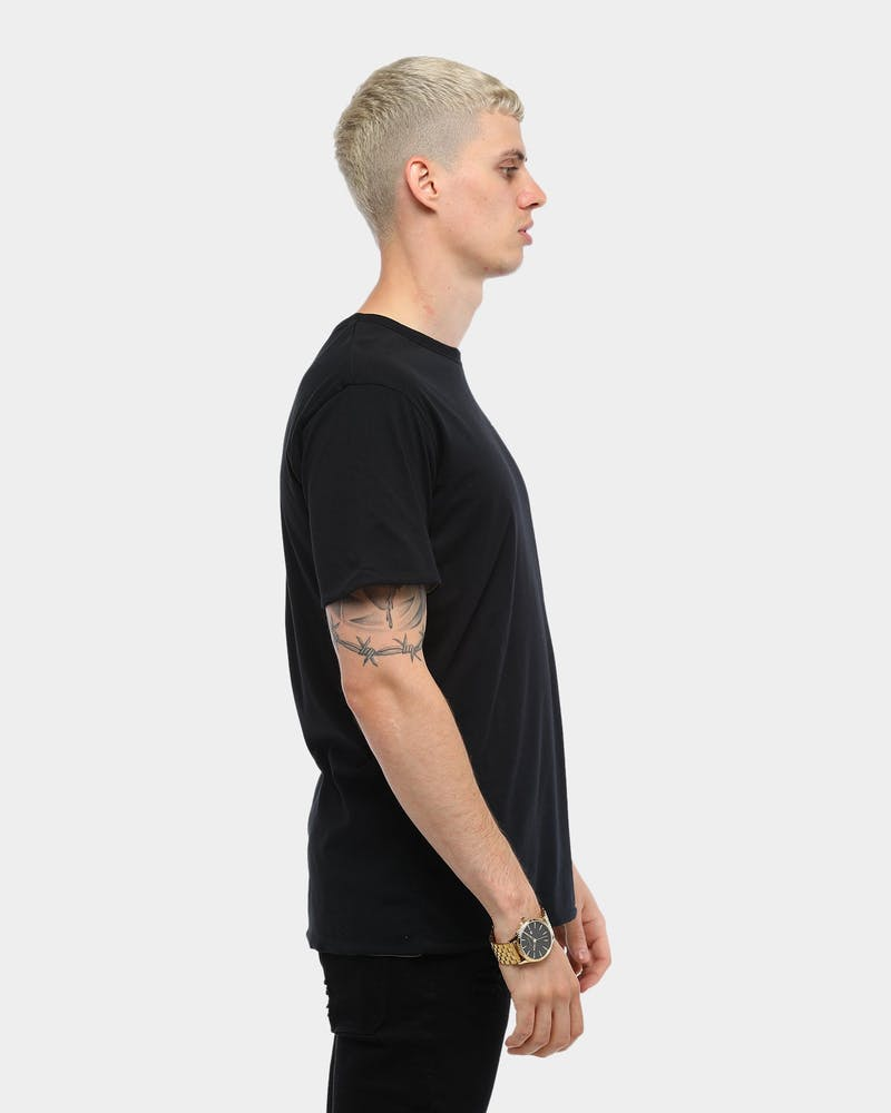 Carré Flipside Reversible SS Tee Black/Grey