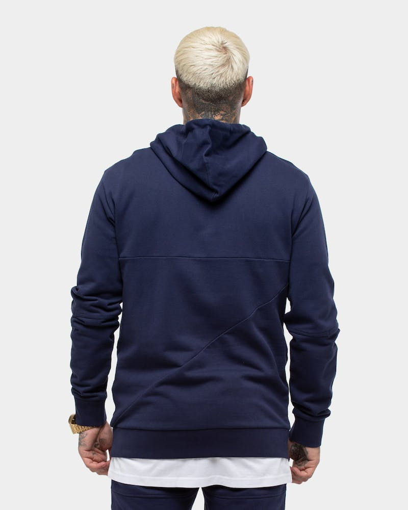 Saint Morta Gothic New Age Hoody Navy/Gold