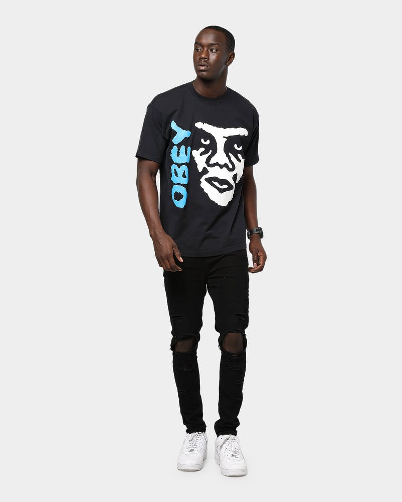 Obey The Creeper 2 Tee Off Black