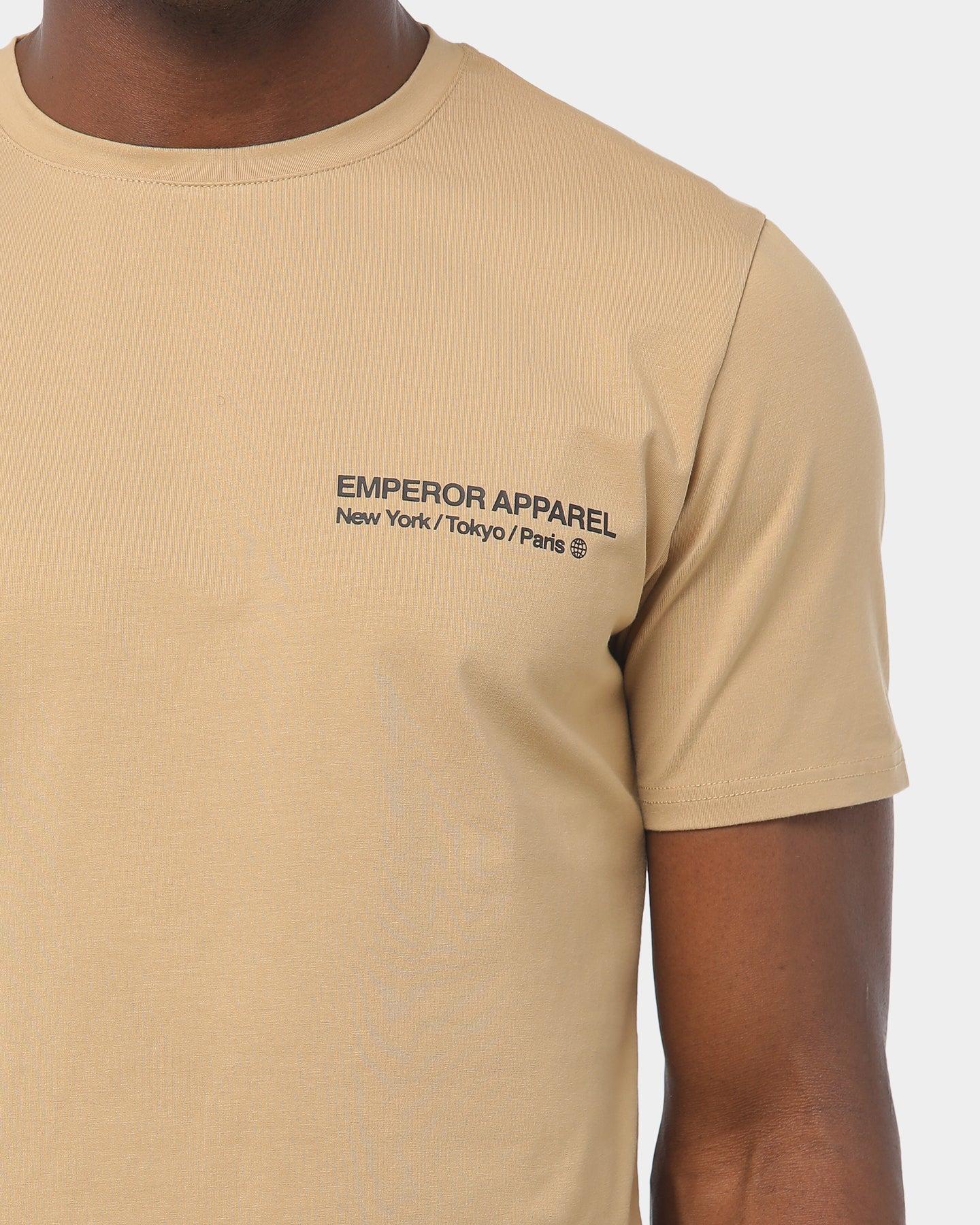 Beige cotton t shirt Adidas Beige size L International in