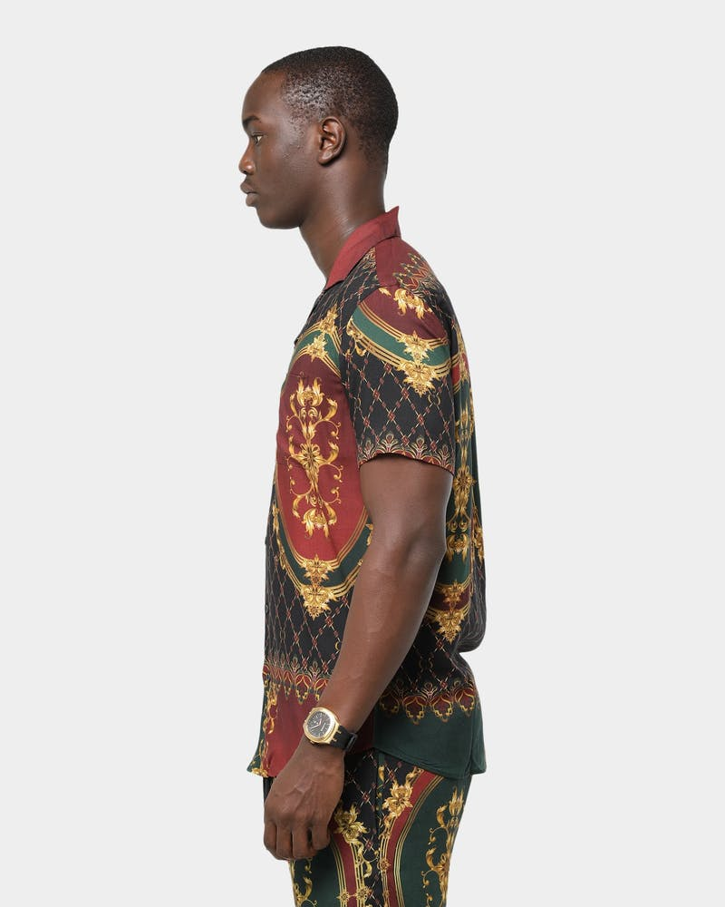 Criminal Damage Quilt Shirt Multi-Coloured