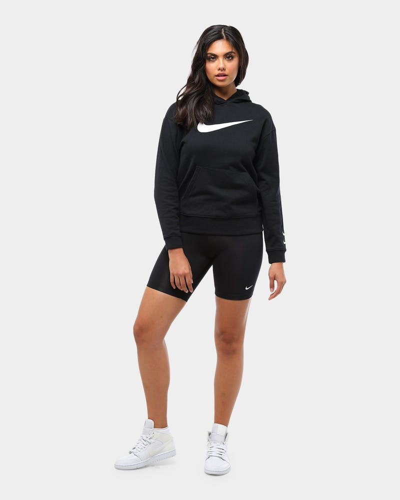 Nike Women's NSW Swoosh Hoodie Black/White