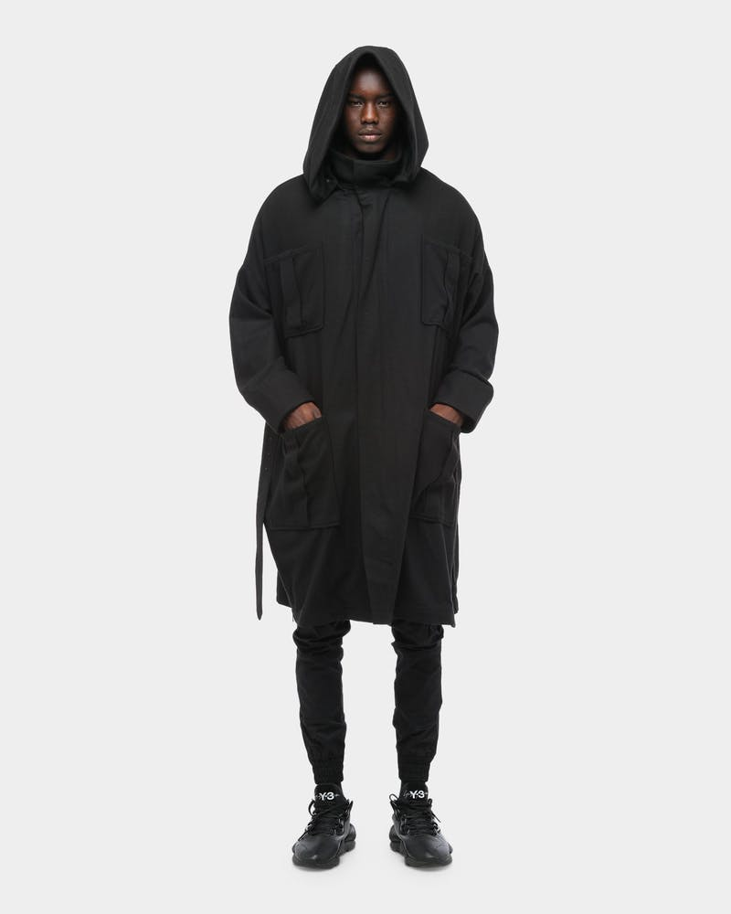 The Anti-Order Sub-Terra Coat Black/Black