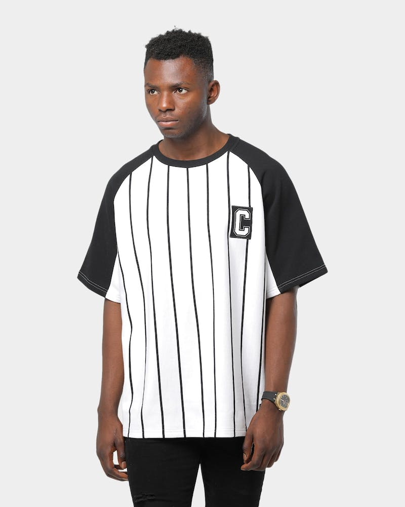Carré Practice Double Up SS Tee White/Black