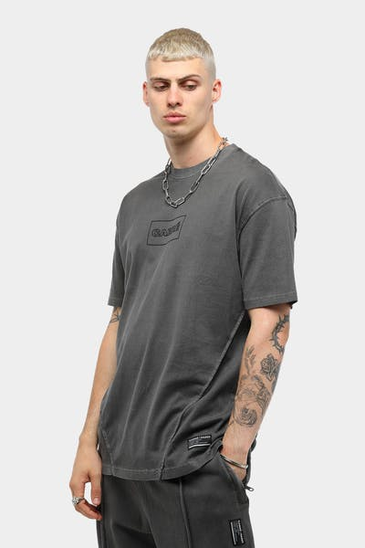 Carré Men's Lave SS Tee Washed Black