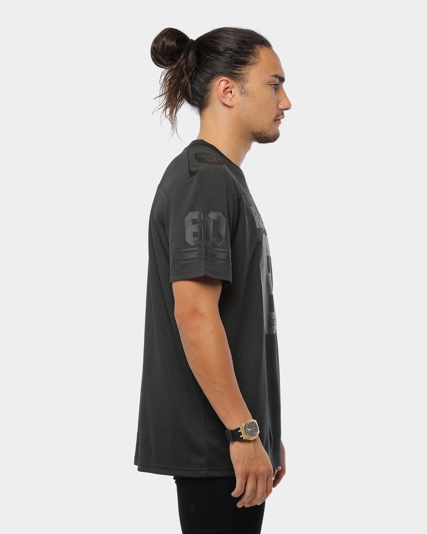 NFL Oakland Raiders Poly Mesh T Shirt Mens M L XL 2XL Jersey