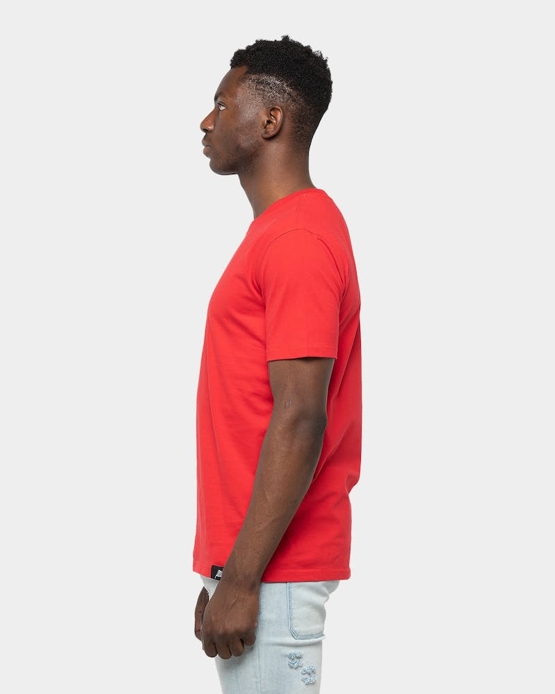 Draft Day Headtop SS Tee 	Red/White