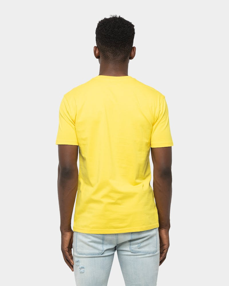 Draft Day Headtop SS Tee Yellow/Black