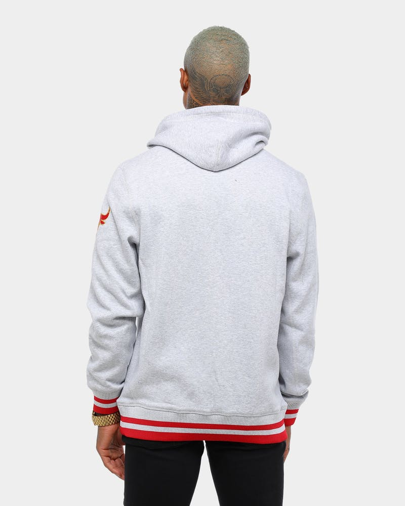 Mitchell & Ness Chicago Bulls CNY Hoodie Grey Marle