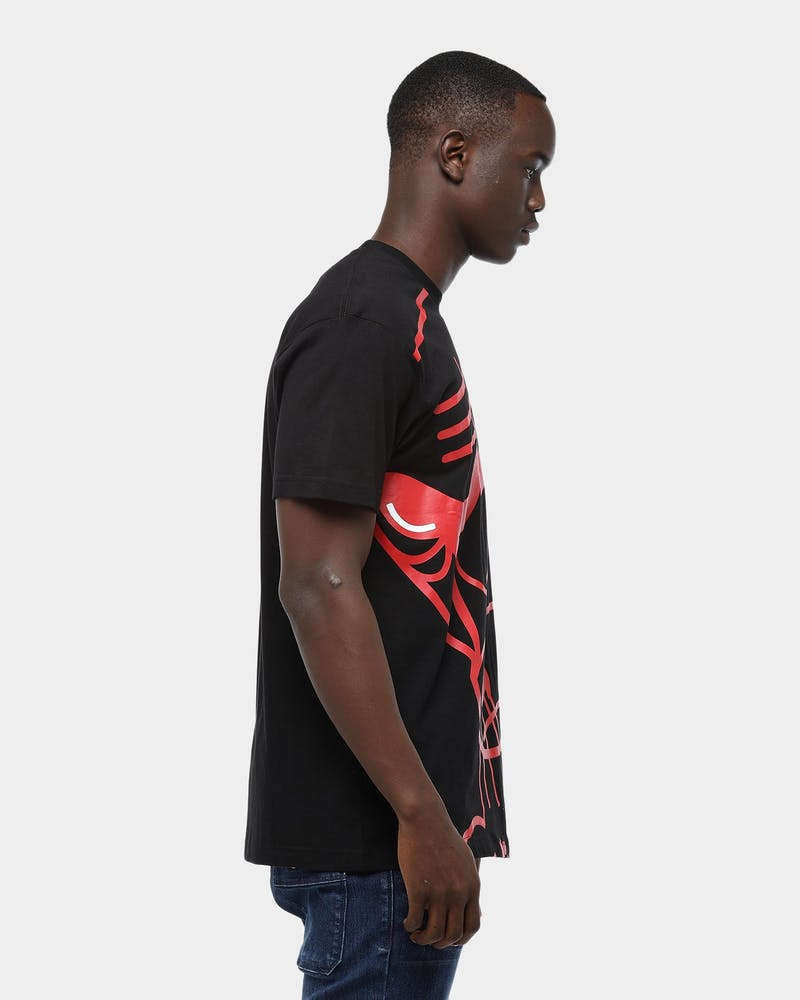 Mitchell & Ness Chicago Bulls Big Face Short Sleeve T-Shirt Black