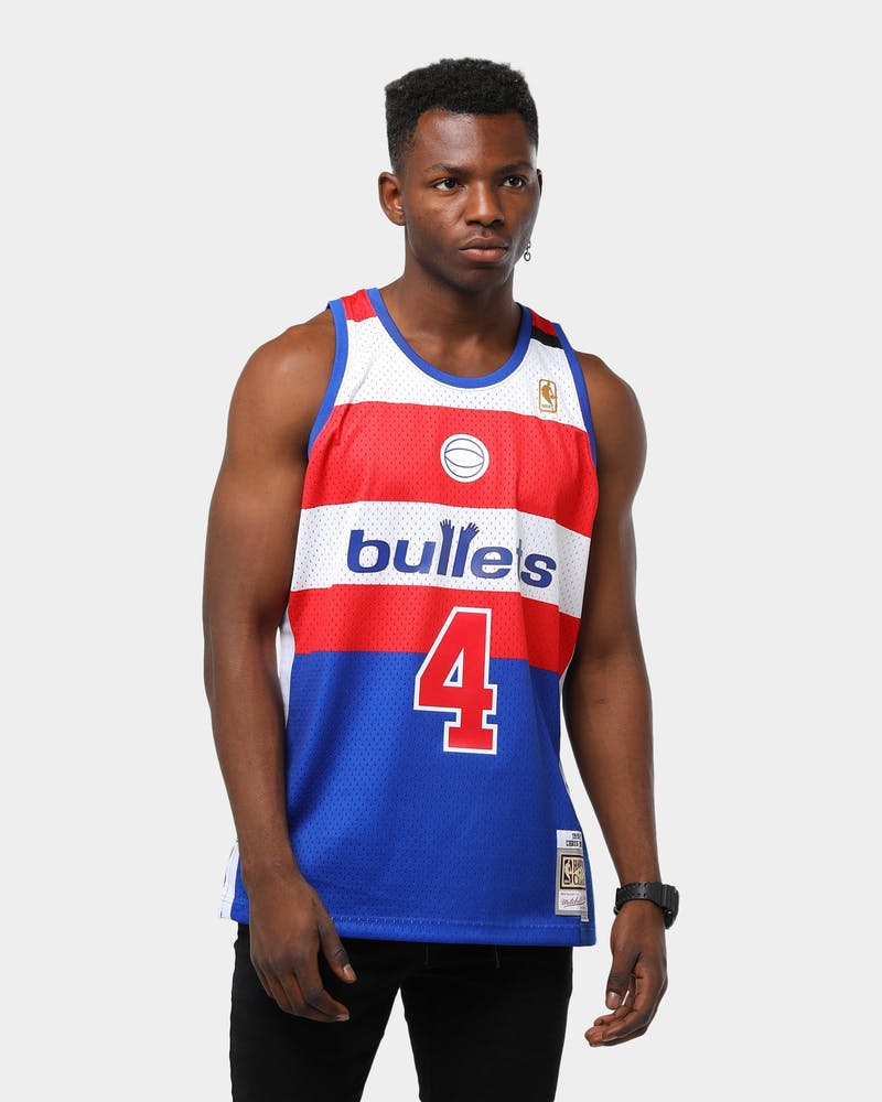 Mitchell & Ness Men's Washington Bullets Chris Webber '96-'97 Swingman NBA Jersey Royal