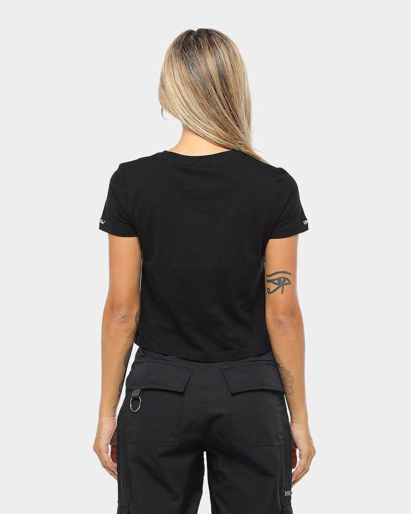 Crooks & Castles Women's Primo Tee Black/Gold