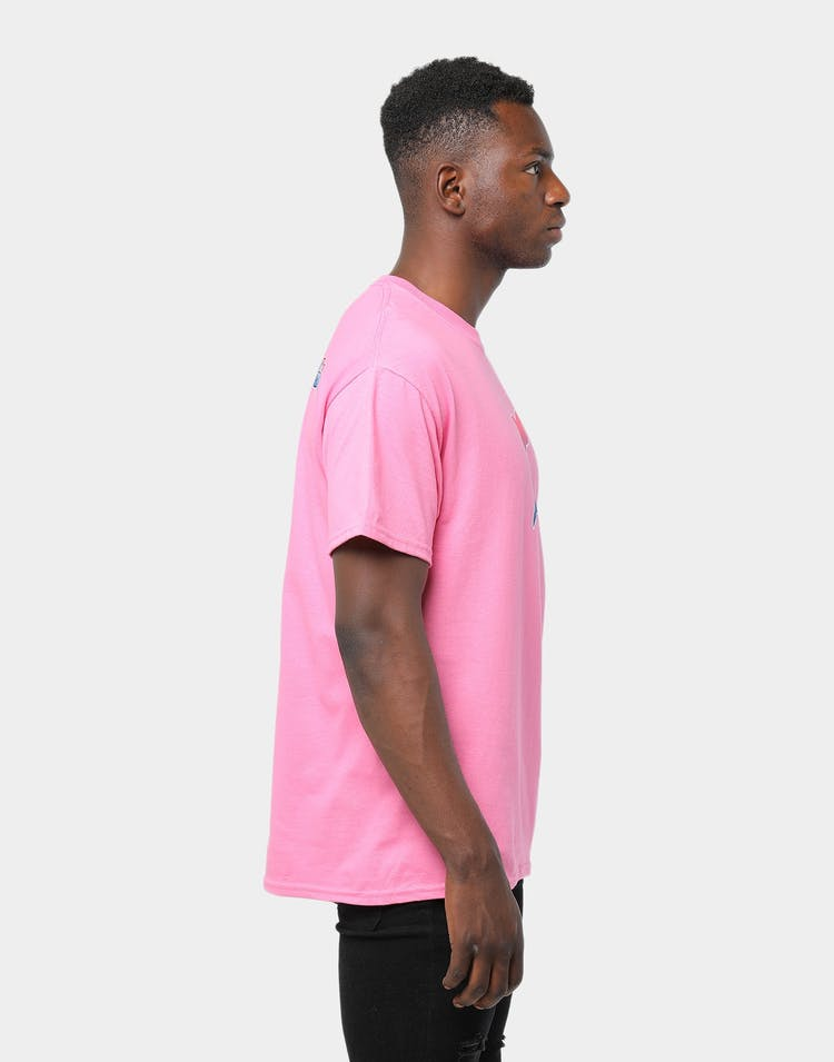 Pink Dolphin PD X JAUZ SICKY ICKY Tee Pink