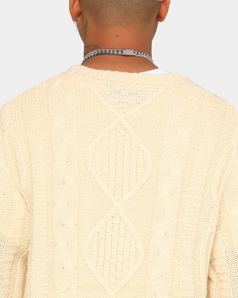 EN ES Florence Knit Sweater Ivory