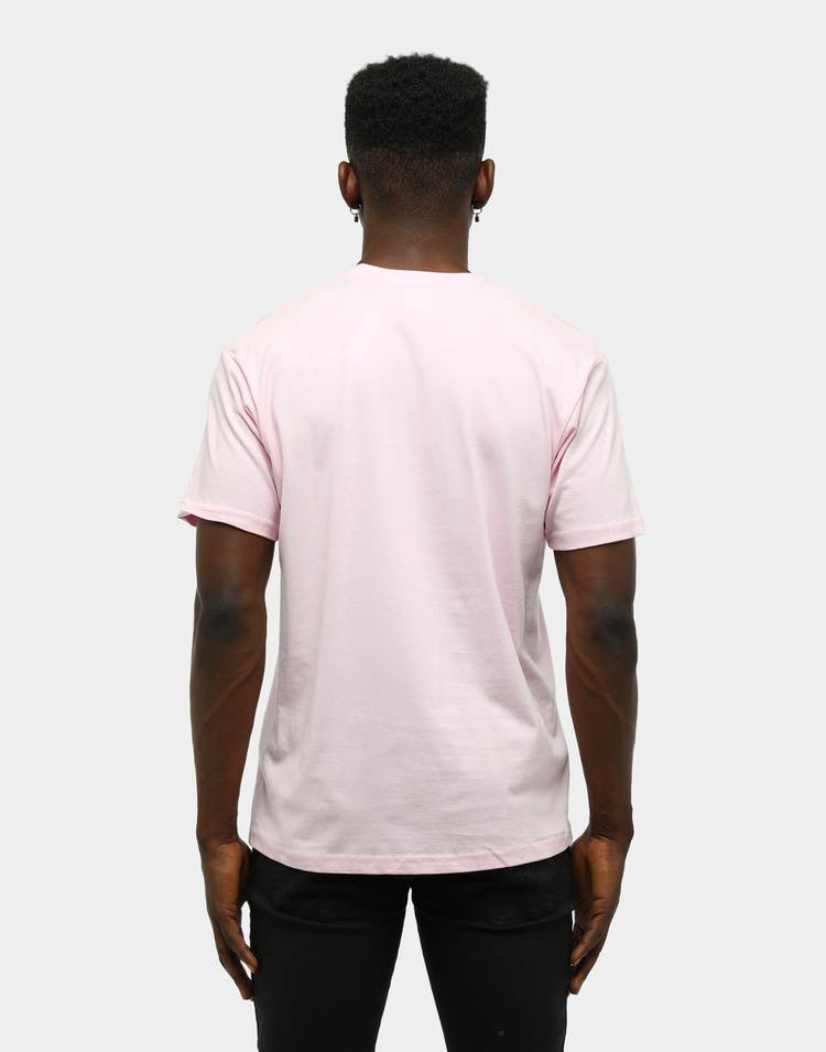 Supreme Men's Bandana Box Logo T-Shirt Light Pink