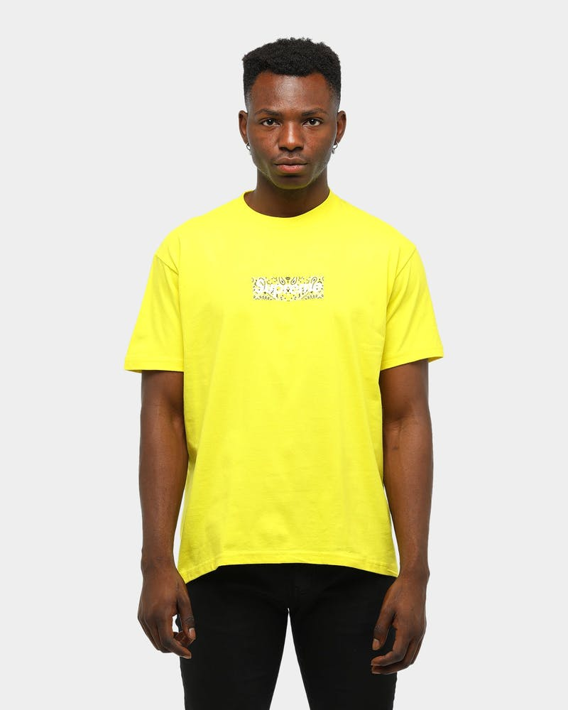 Supreme Men's Bandana Box Logo T-Shirt Yellow