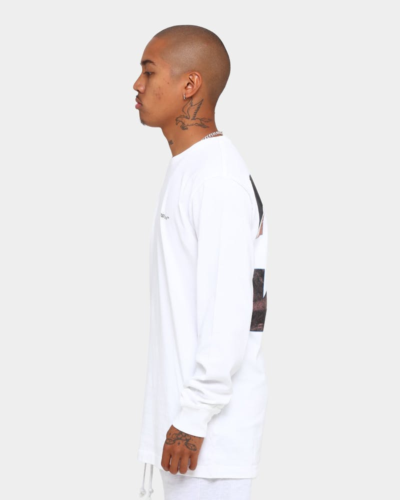 Off White Caravaggio Angel Long Sleeve T-Shirt White/Black
