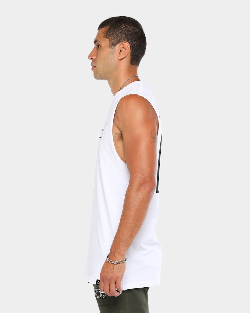 Carré Objectif Capone Muscle Tee White