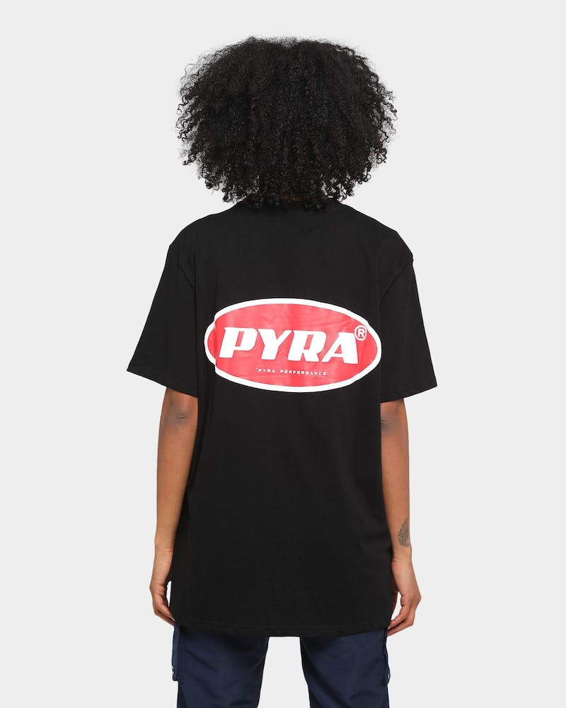 PYRA Men's Infra Realism Short Sleeve T-Shirt Black