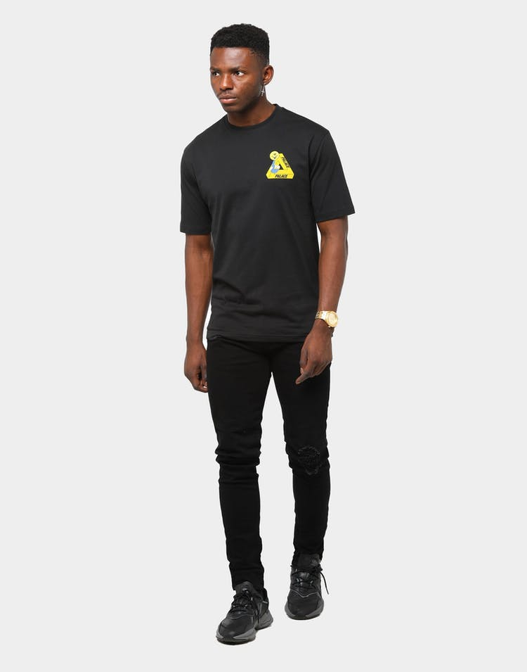 Palace Men's Tri-Smiler T-Shirt Black
