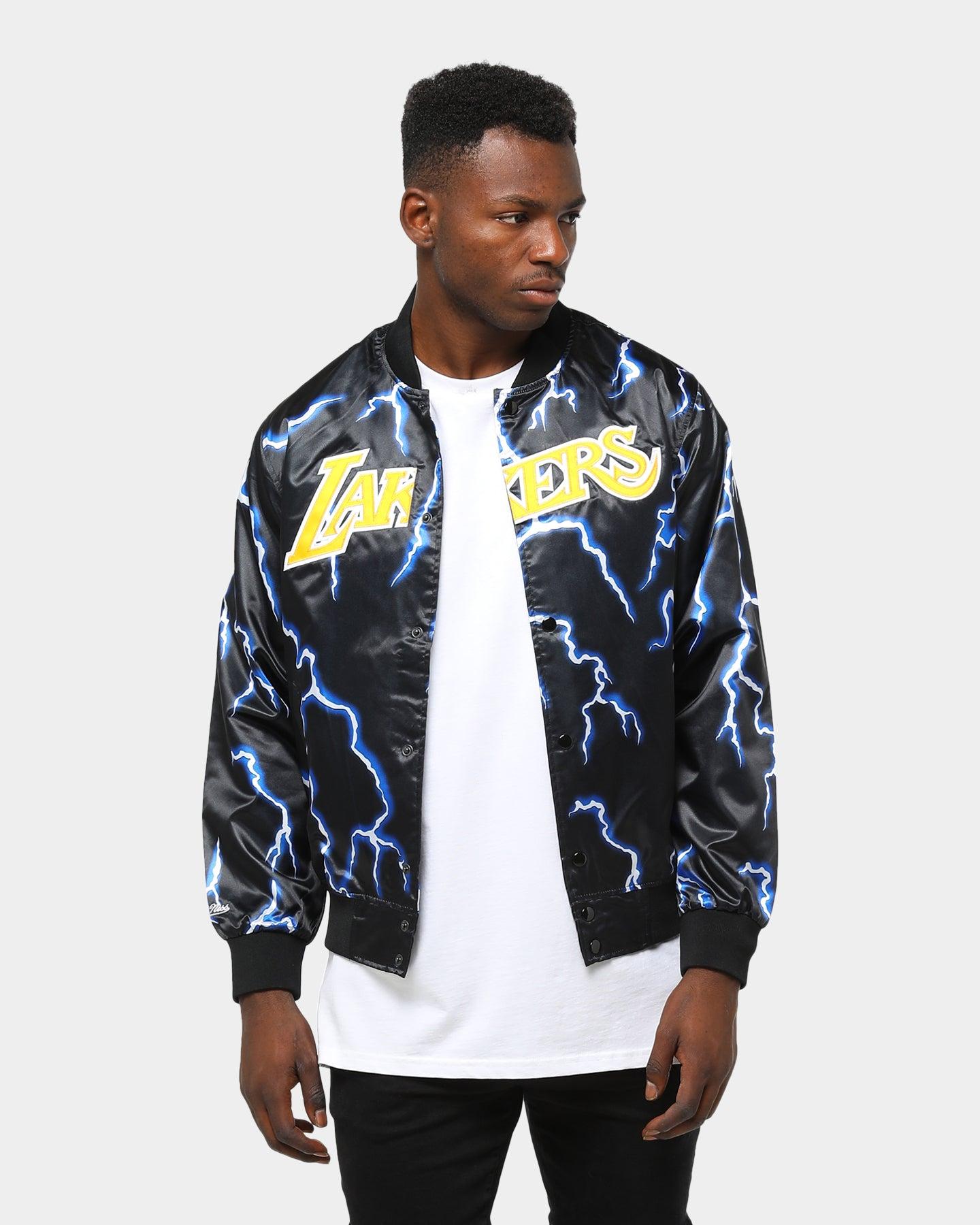Tampa Bay Lightning adidas Squad Woven Full Zip Hoodie Blue