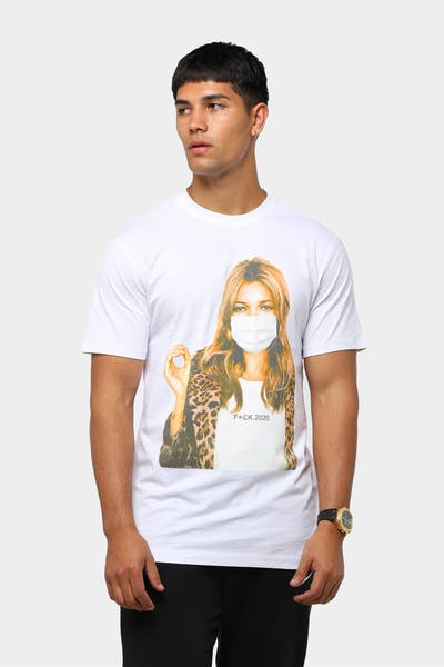 Goat Crew Men's Kate Moss F.2020 T-Shirt White