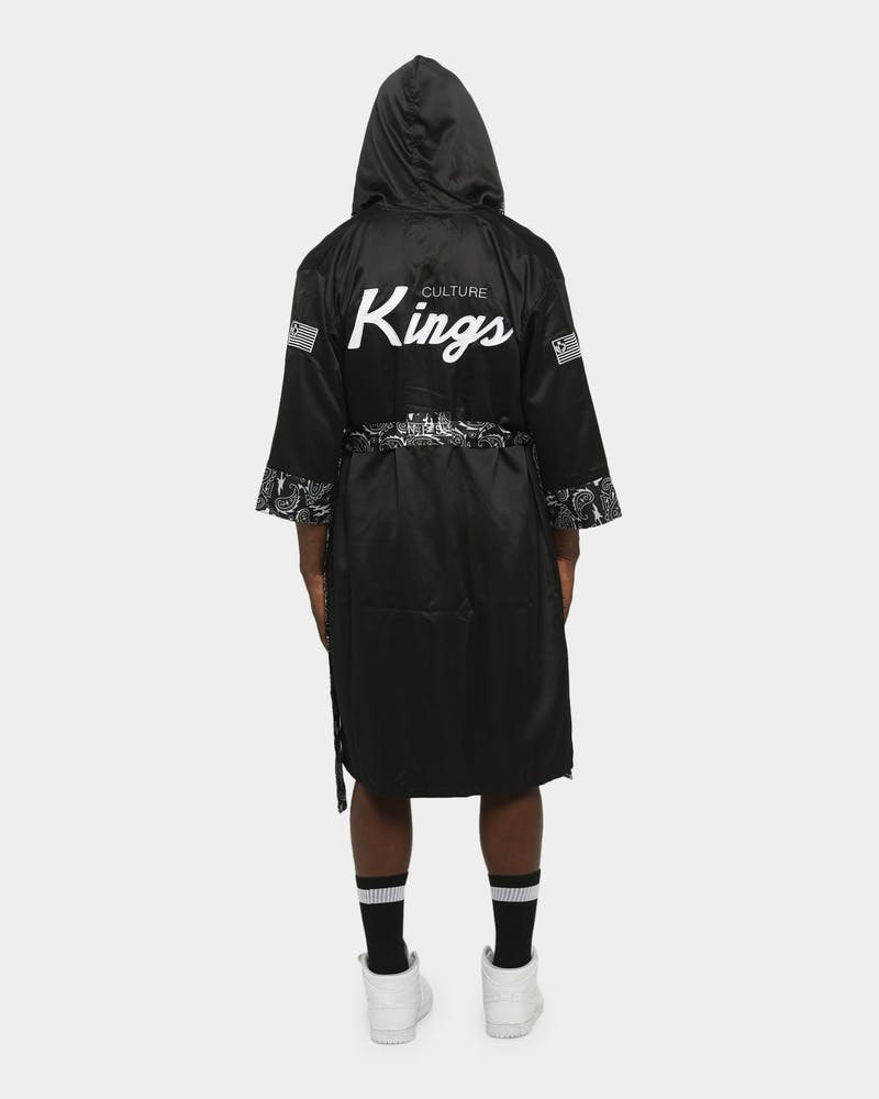 CULTURE KINGS Undisputed Boxing Robe Black