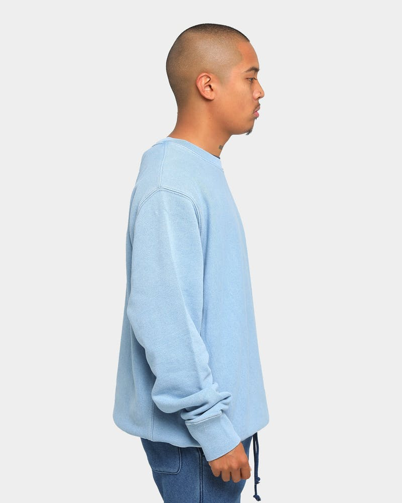 Champion Reverse Weave Rebound Crew Chambray Washed