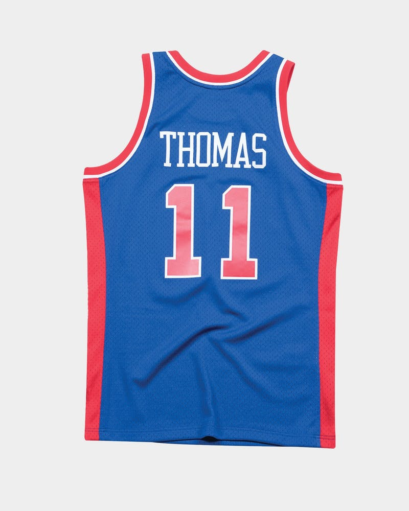 Mitchell & Ness Detroit Pistons Isaiah Thomas '88-'89 #11 Swingman Jersey Royal