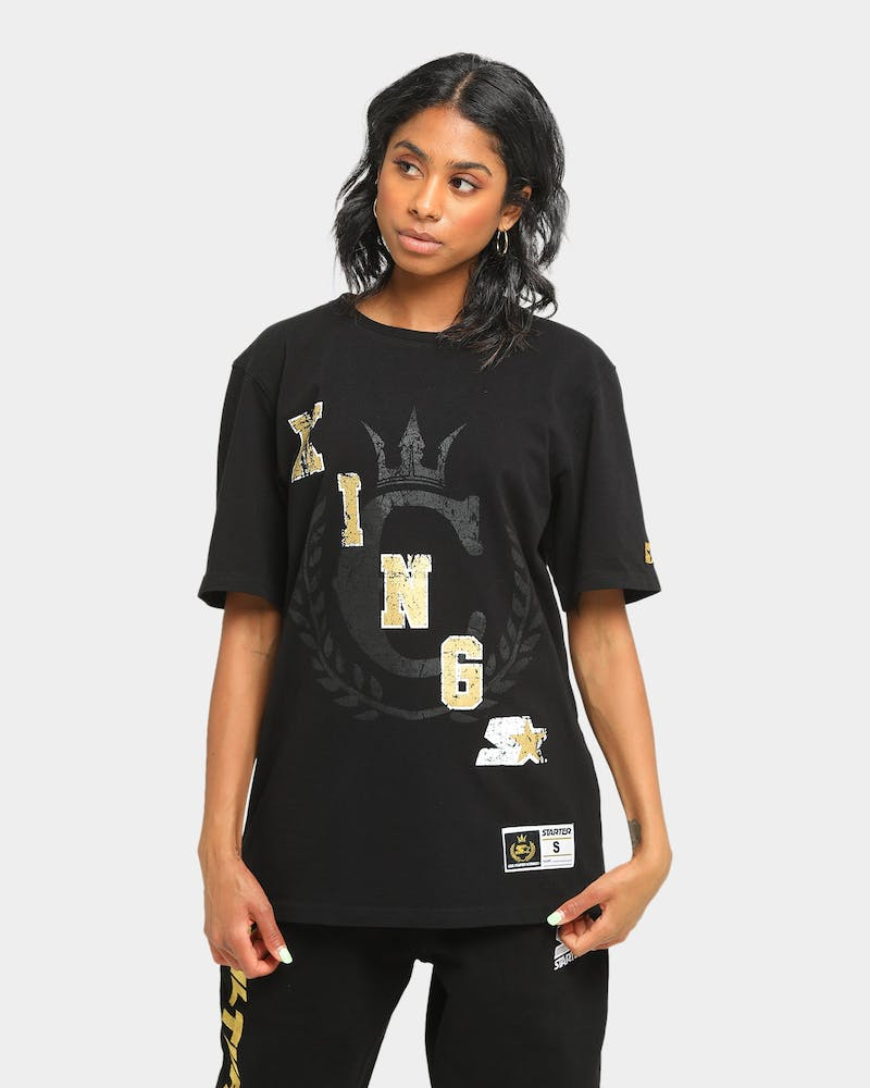 Starter Starter X Culture Kings Short Sleeve T-Shirt Washed Black