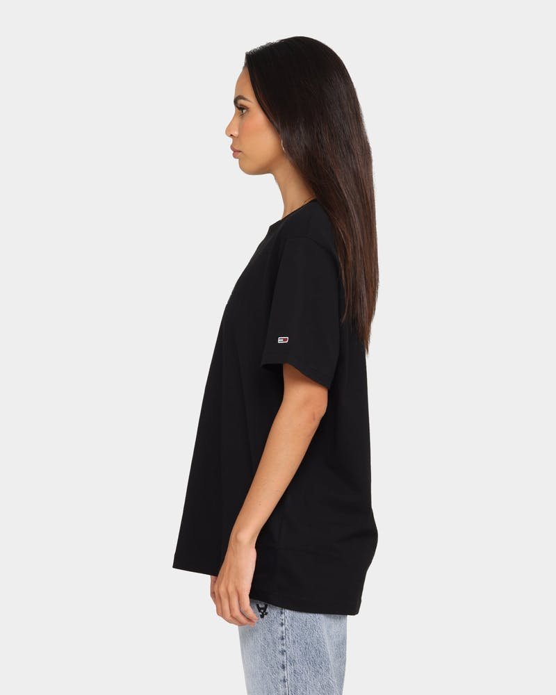 Tommy Jeans Aus Flag T-Shirt Black