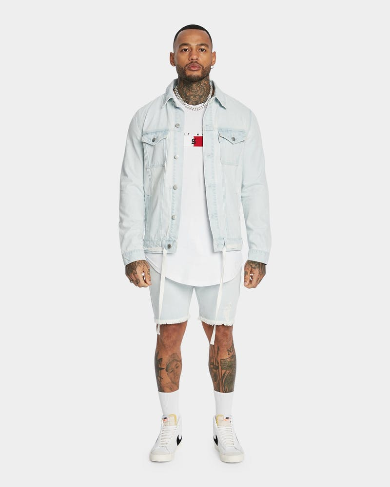 Saint Mora Represent Denim Jacket Light Blue
