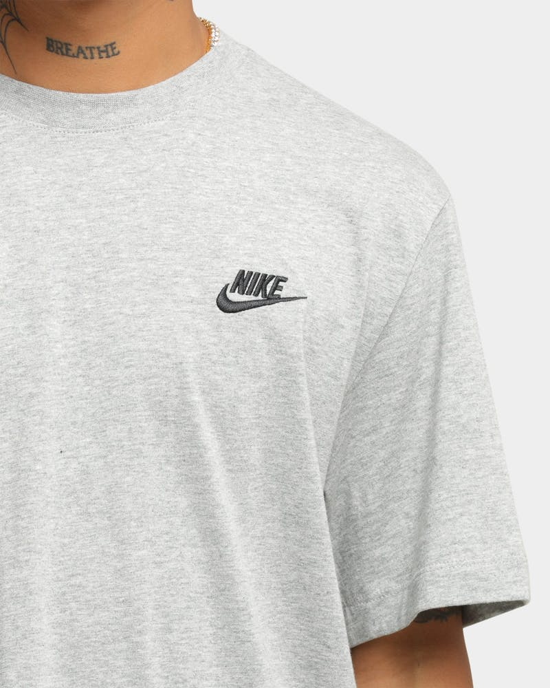 Nike Nike Sportswear Club T-Shirt Dark Grey Heather