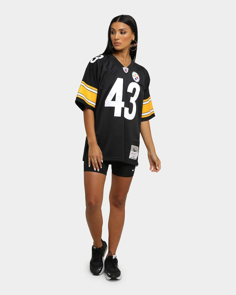 Mitchell & Ness Pittsburgh Steelers Troy Polamalu #43 '05 Legacy Jersey Black