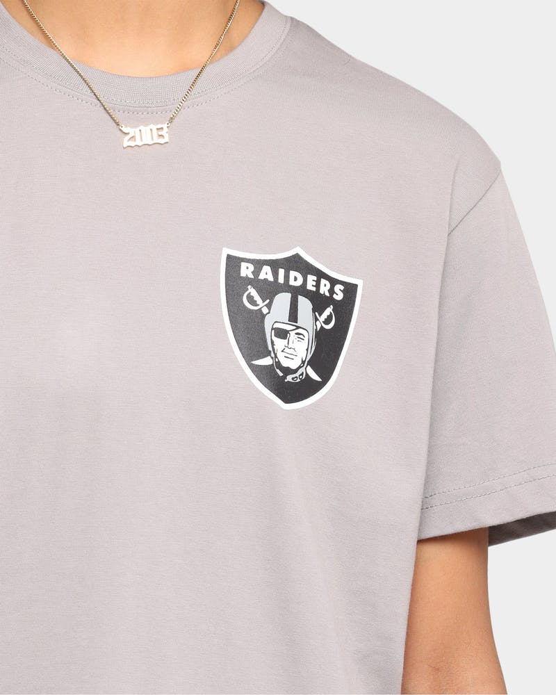 Majestic Athletic Raiders Short Sleeve T-Shirt Smoke